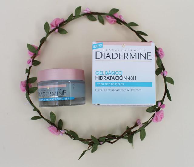 Diadermine gel básico (Hidratación 48 horas)