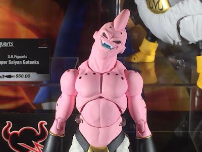 """Primeras imágenes de la S.H.Figuarts de Super Buu de """"Dragon Ball Z"""" expuesta en el Fan Expo Canada - Tamashii Nations"""