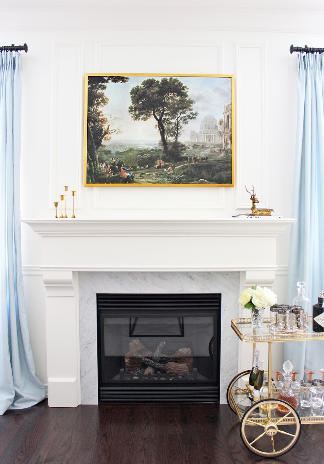 Art Over Fireplace Ideas - Oricle Interior | 76829
