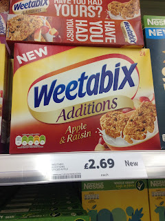 Weetabix Additions Apple & Raisin
