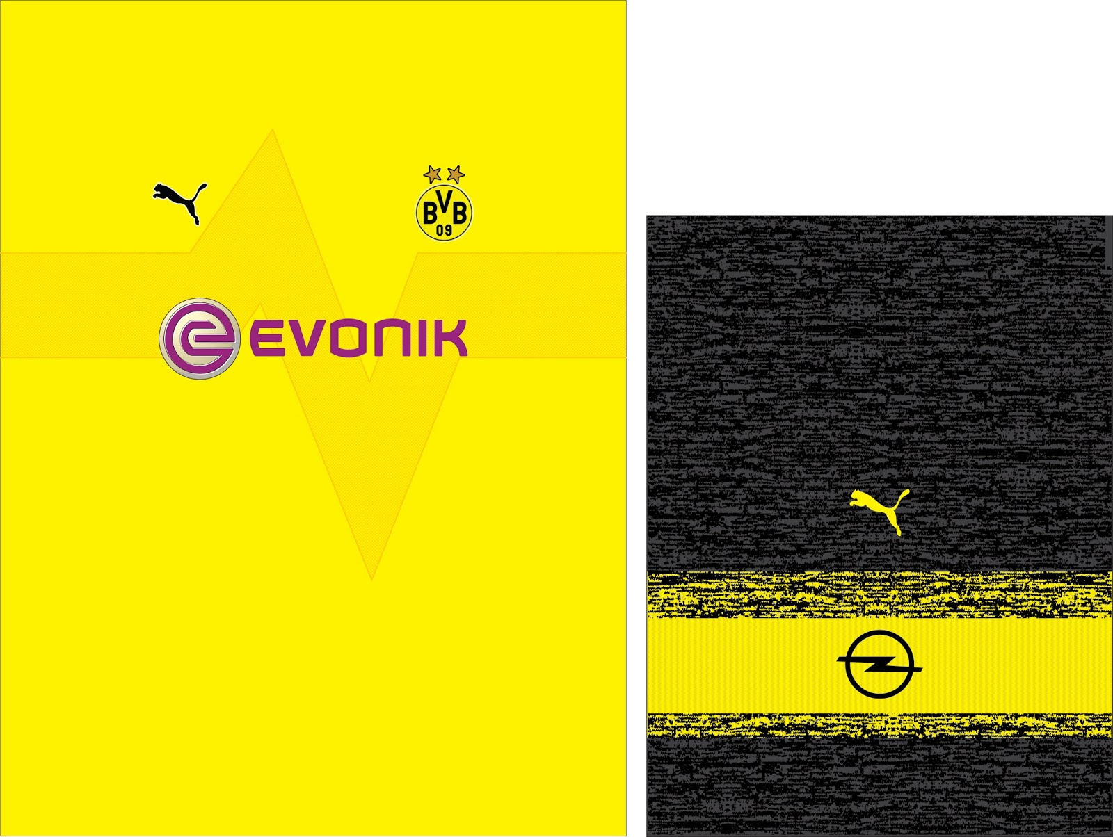 Grabal Desing Vector: CAMISETA Borussia Dortmund 2018-2019