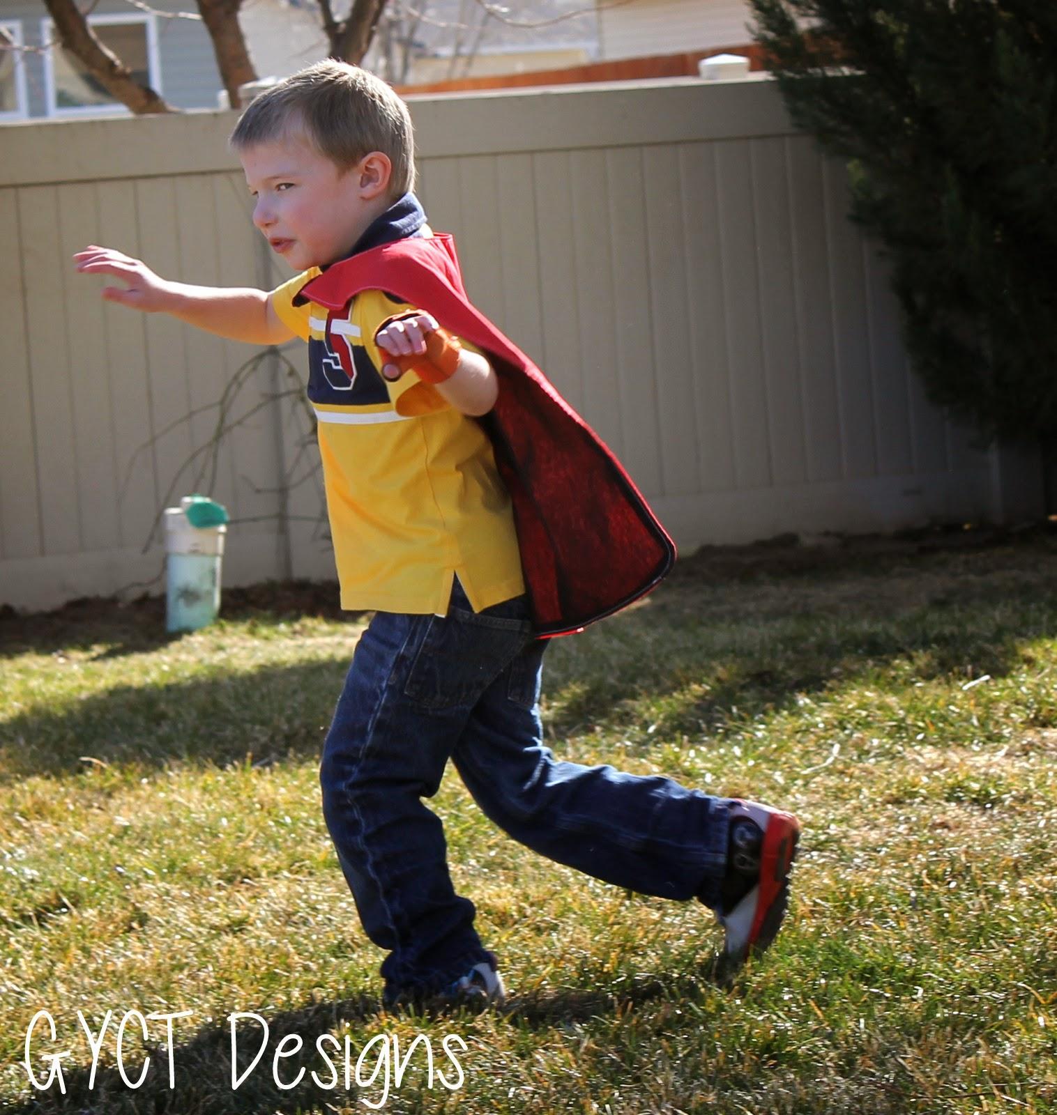 FREE Superhero Capes for Make Believe Week @ GYCT