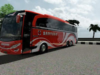 Mod JETBUS HD2 DOUBLE AXLE Euro Truck Simulator 2
