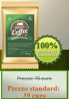 sconto caffè verde in polvere