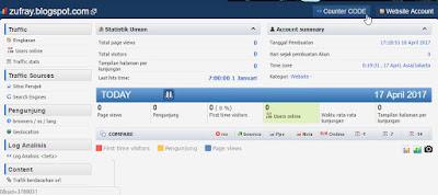 Cara Daftar dan Memasang Histats di Blog