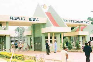 Rufus Giwa Poly Admission List