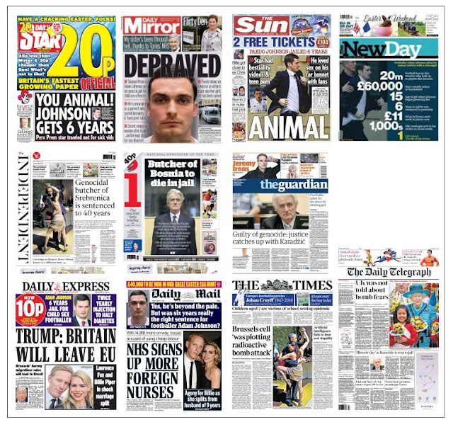 front pages 25-03-16