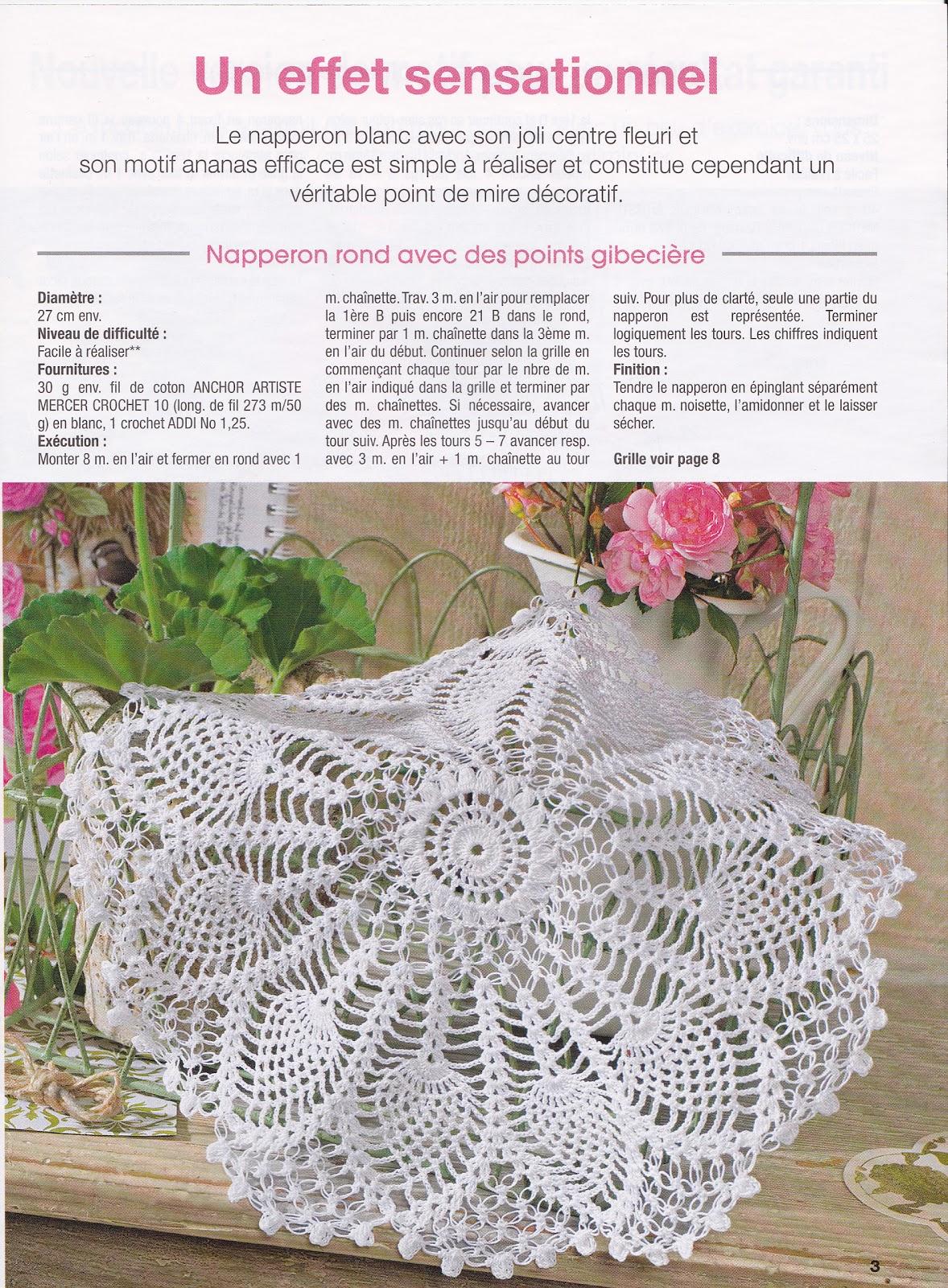 Créations Crochet Petit Ananas