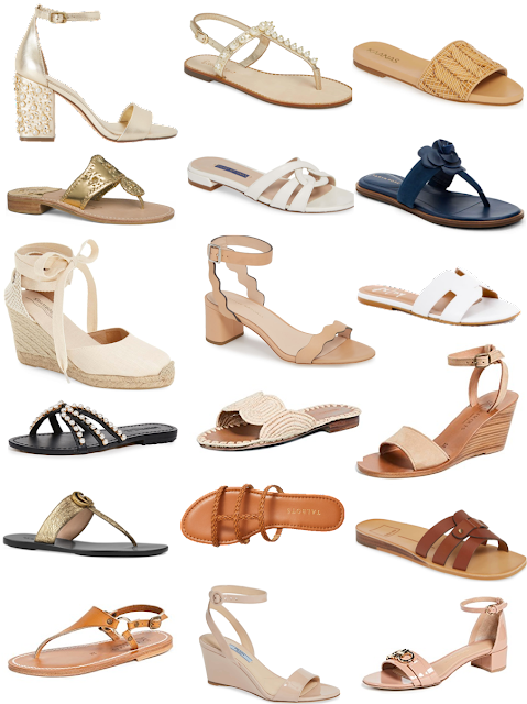 21 Pairs of Neutral Sandals for Summer