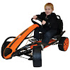 Kettler Kiddi-O Sport Kid Racer Pedal Car, Orange