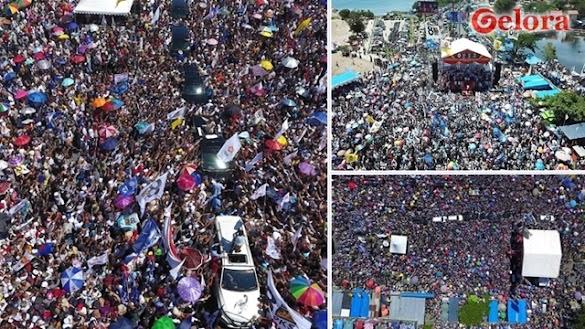 Padang Berguncang, Prabowo: Terima Kasih, Sejak Dulu, Masyarakat Sumbar Dukung Saya