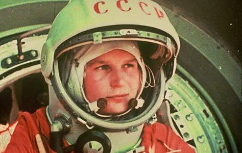 Valentina Tereshkova, a primeira mulher a ir para o espaço