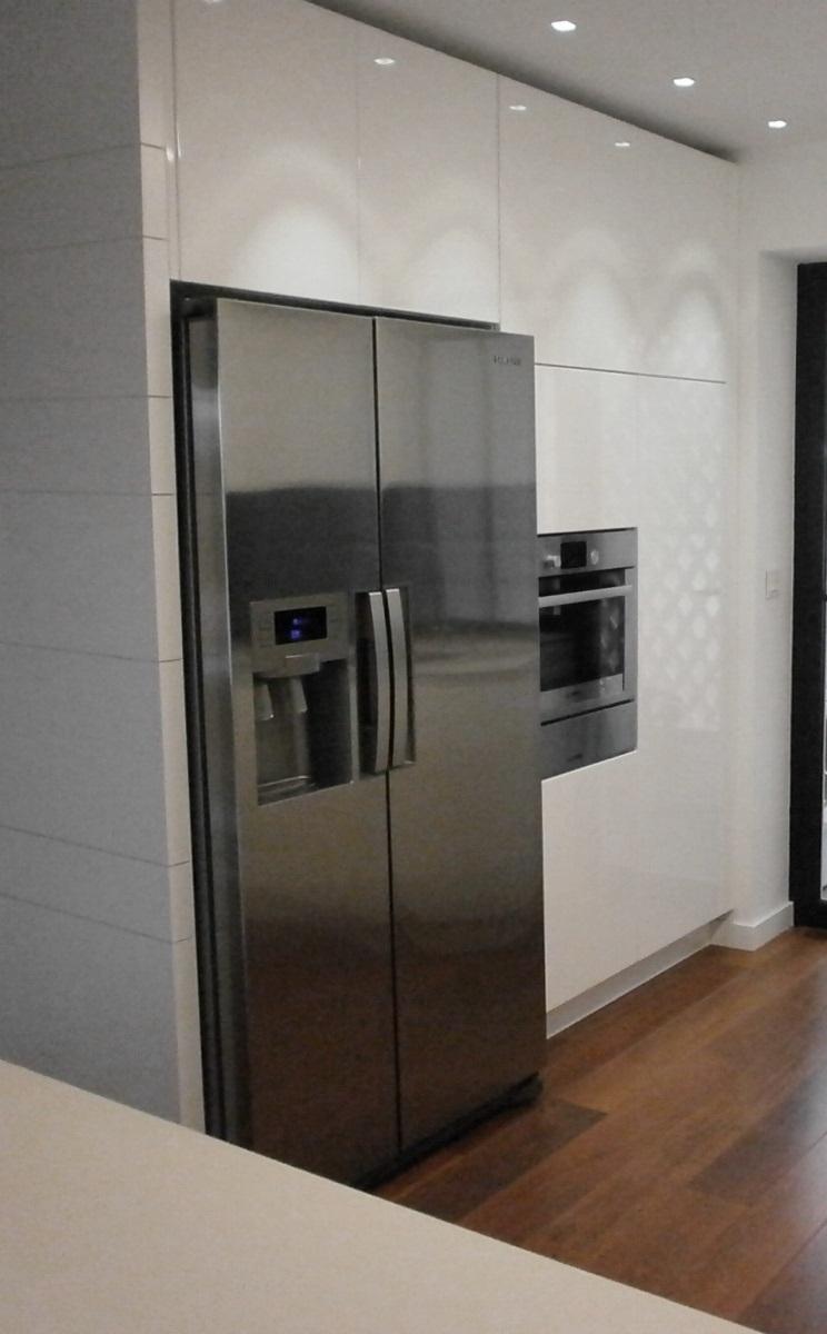 Exquisita sencillez cocinas con estilo - Cocinas con frigorifico americano ...