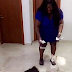 Photos: Eniola Badmus dances with some 'pet dogs', sprays them with dollars