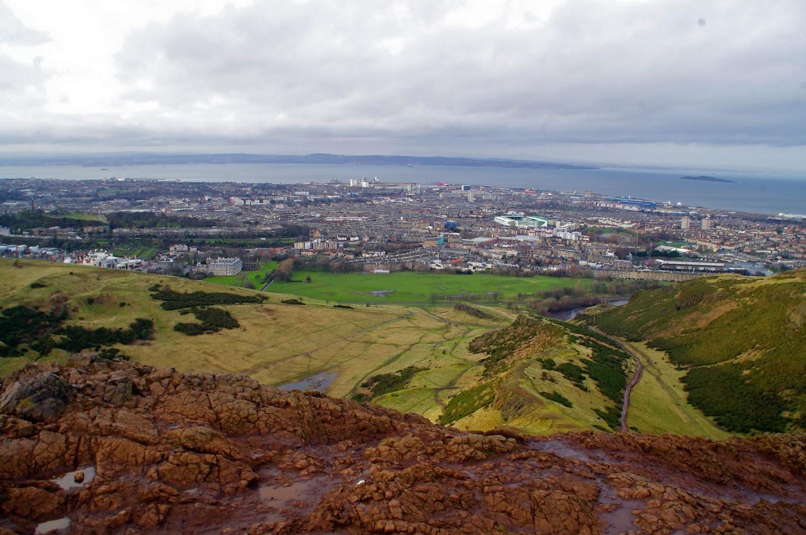 Arthurs Seat Edinburgh Scotland