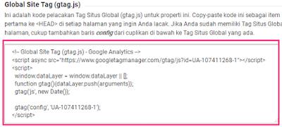 Cara Mendaftar Dan Memasang Google Analytics Di Blog 9
