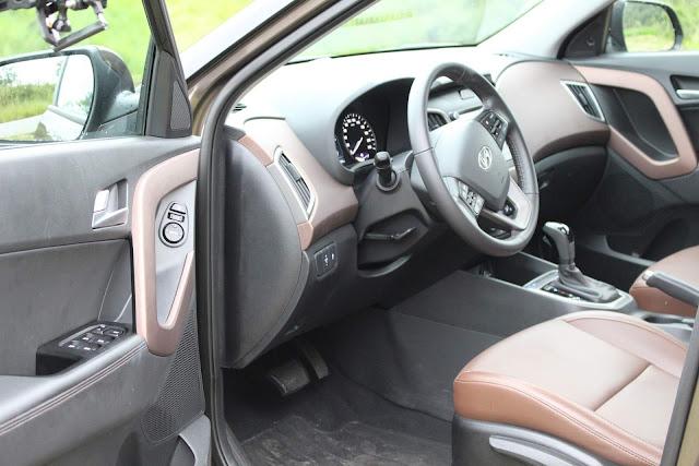 Hyundai Creta Prestige 2.0 Automático 2018 - interior
