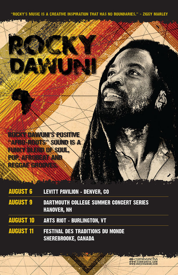 Rocky Dawuni announces US & Canada Summer Dates