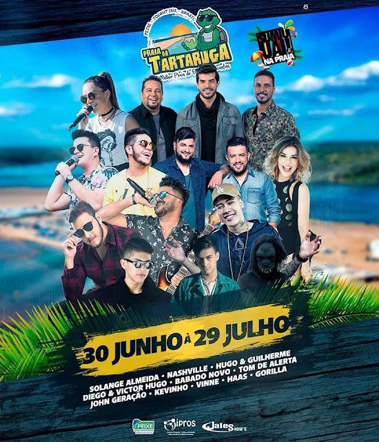 programação temporada 2018 praia da tartaruga peixe to tocantins
