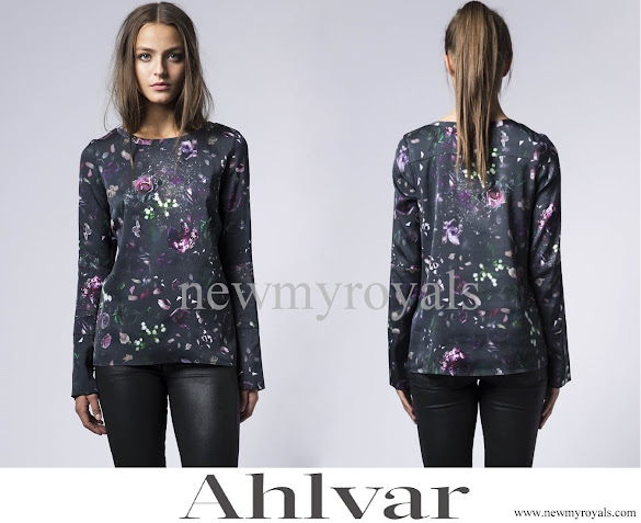 Princess Sofia wore Ahlvar Kasumi Flower Multi Blouse