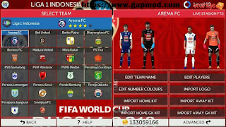 FTS Mod All Country + League 1 by Mr O Apk + Data Obb