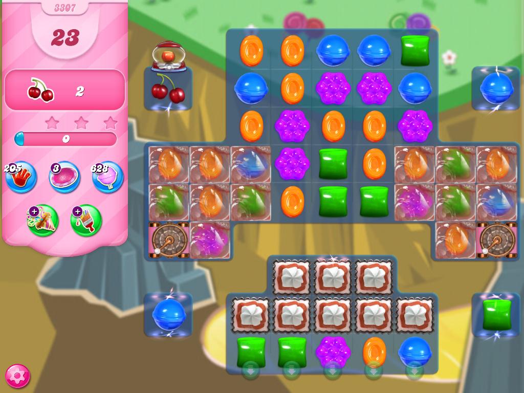 Candy Crush Saga level 3307