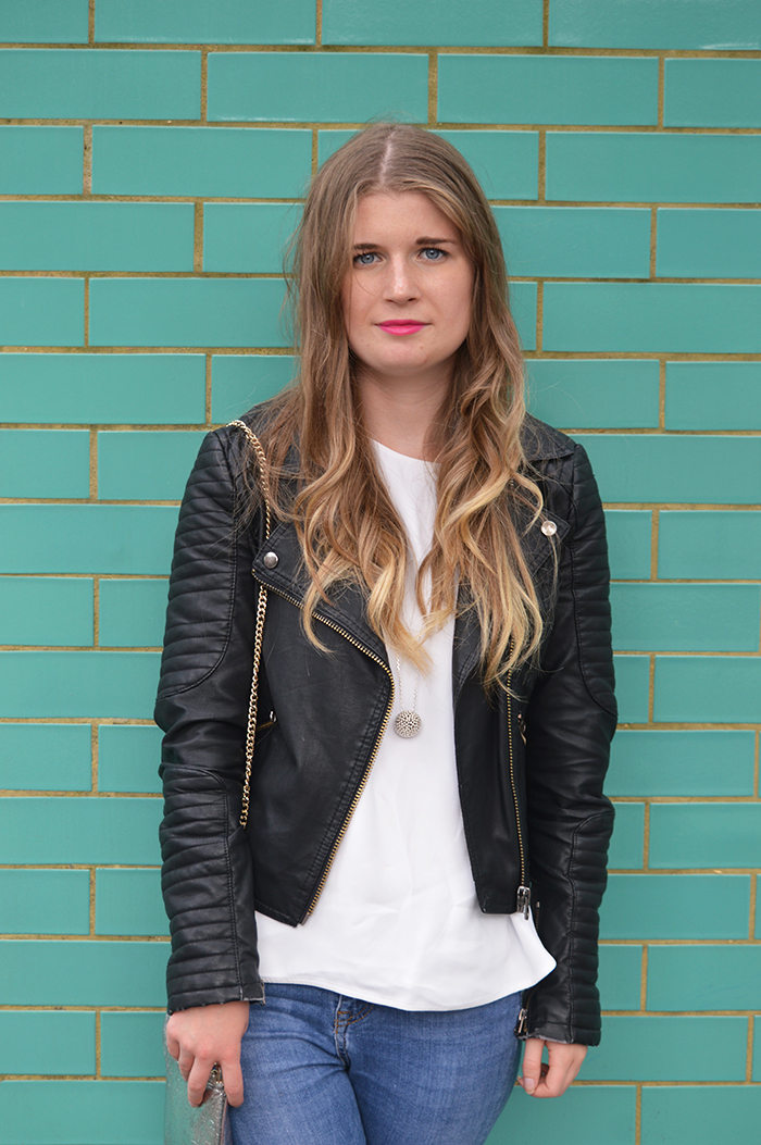 topshop leather jacket fashion bloggers