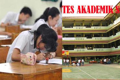 Tes Akademik SMA Untuk Menentukan Jurusan/Minat IPA/IPS atau Bahasa Sekolah Favorit tahun 2018