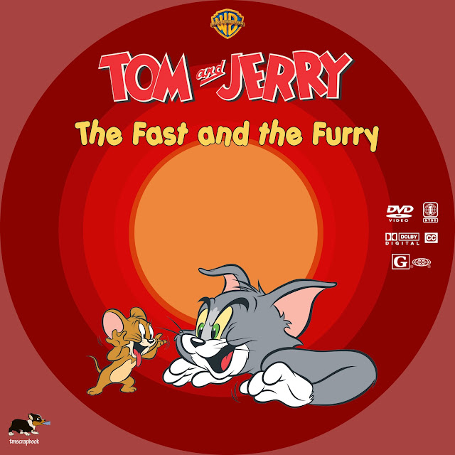 Tom and Jerry: The Fast and the Furry DVD Label