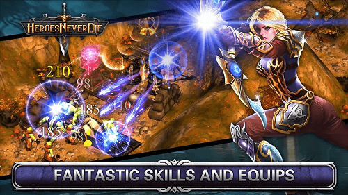 Heroes Never Die Apk Mod v1.0.5 Unlimited Gold & Gems download link