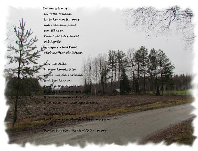 Kaunis Runo Vanhuudesta
