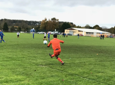 Picture: Football match action between Barnetby United and Briggensians in 2017 - see Nigel Fisher's Brigg Blog