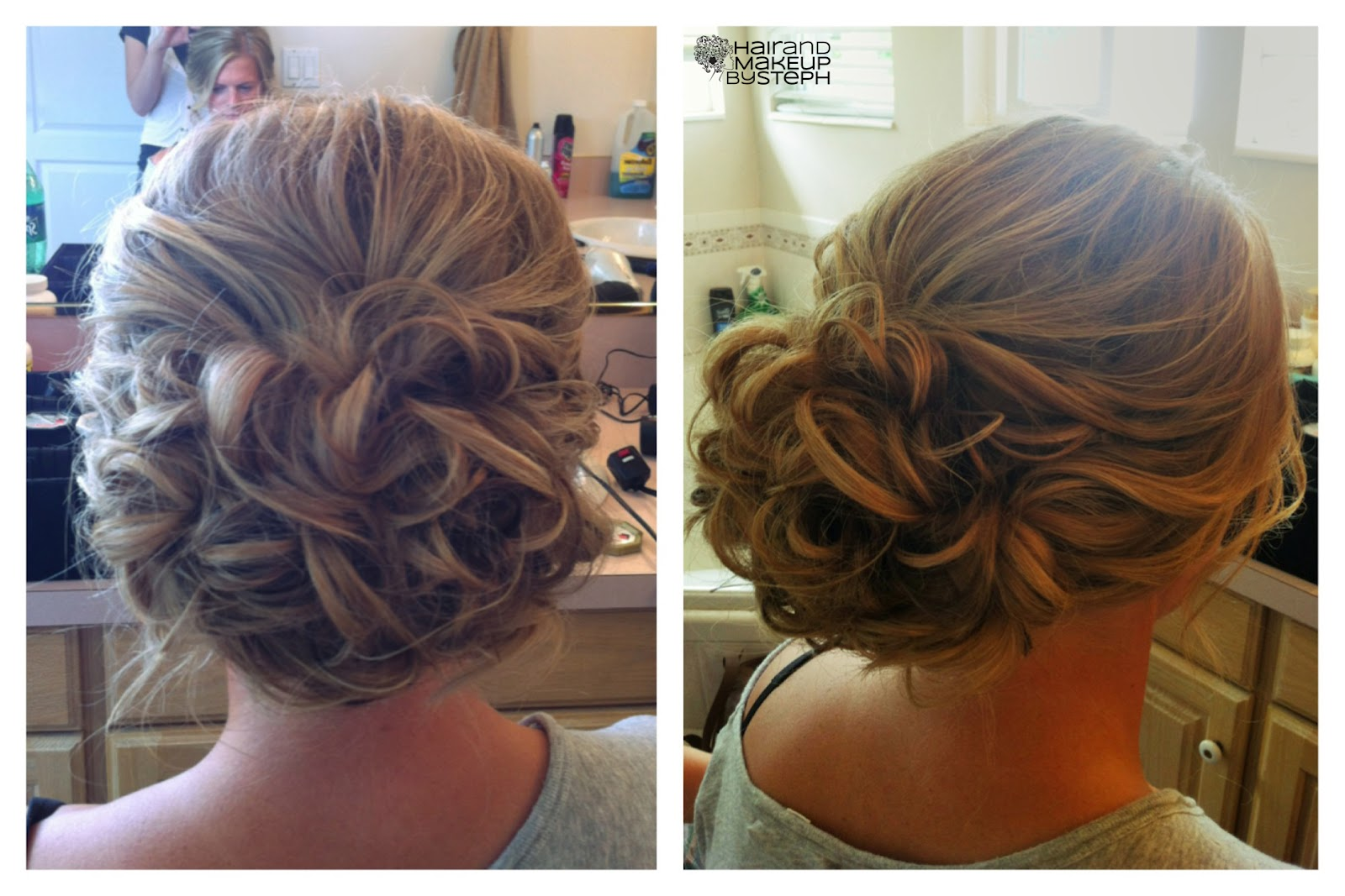 Hair Style With Curls: Hair And Make-up By Steph: September 2012