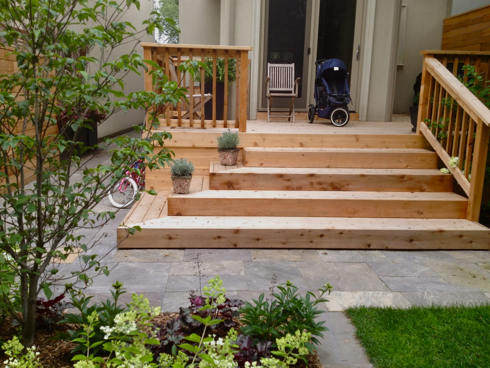 Exteriors For Living: Leaside Garden Room on Backyard Patio Steps id=15063