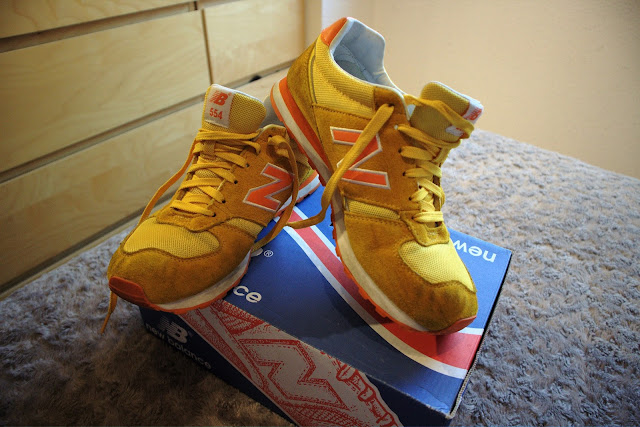 New Balance W554YO, nb, n, trainers, 554, yellow, amarillo