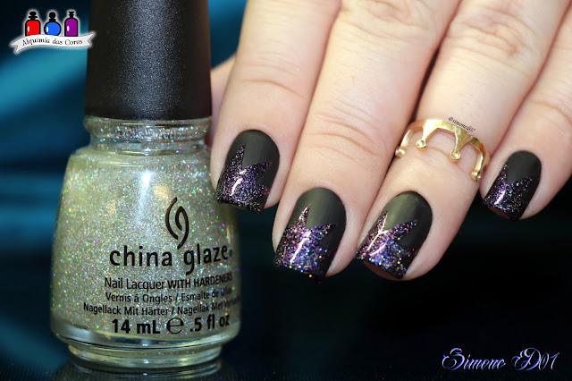 Nails Vinyls, Golden Rose, 12 Matte, Kiko, Sparkle 261, China Glaze Fairy Dust, preto, glitter, Glitter Holográfico, Mony D07, Vinyl Nails,