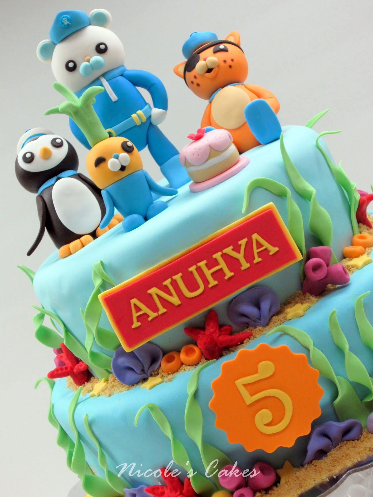 How To Make Octonauts Cake Toppers