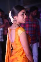 Shalini Pandey in Beautiful Orange Saree Sleeveless Blouse Choli ~  Exclusive Celebrities Galleries 021.JPG