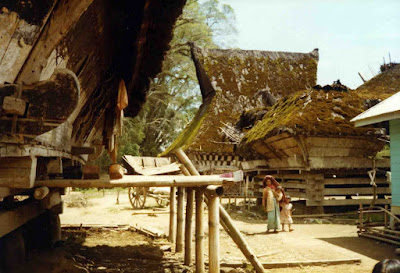 Perkampungan suku Karo yang masih asli (karo-news.blogspot.com)