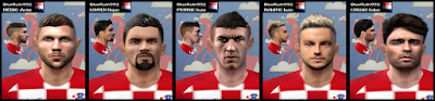 PES 6 Facepack Croatia World Cup 2018 Russia by BR92