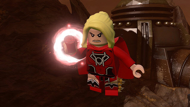 Supergirl Comic Box Commentary: Lego Red Lantern Supergirl?