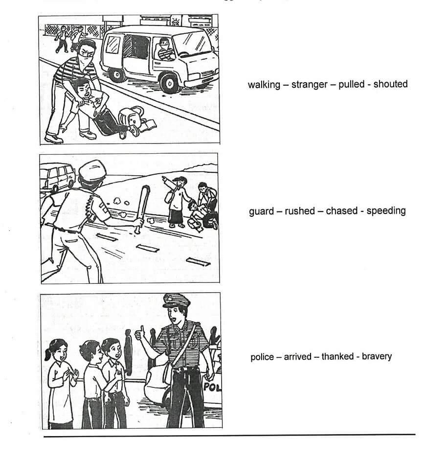 Child Kidnapping: Section C UPSR BI Penulisan