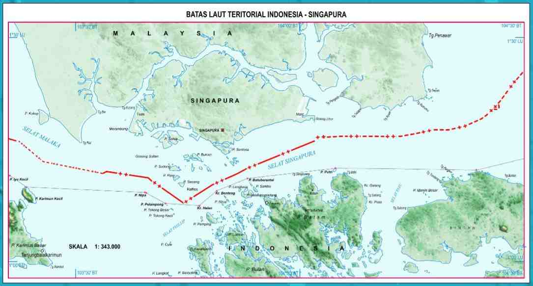Gambar Peta Indonesia Lengkap Terbaru Beserta Keterangannya Batas Teritorial Asli