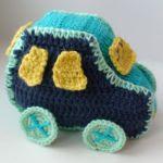 patron gratis coche amigurumi | free amigurumi pattern car