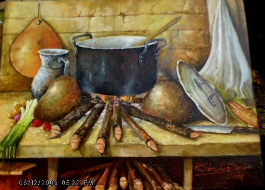 Pintura moderna y fotograf a art stica pinturas de - Pintura de cocina ...