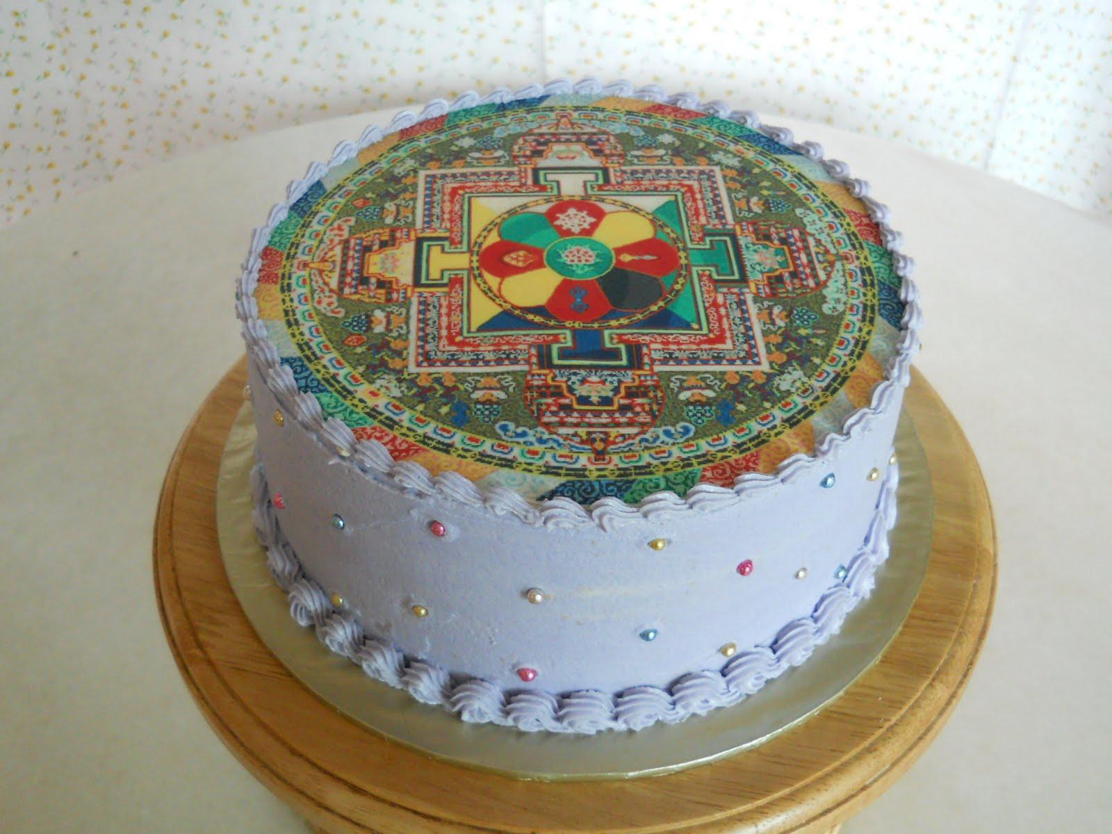 The Best Cakes In Town Tibetan Mandala Cake
