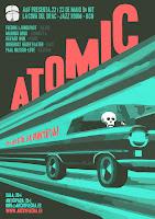 Los sorteos de Tomajazz: Atomic en Barcelona