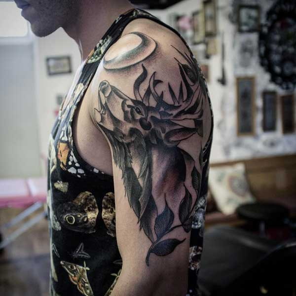 deer tattoo pinterest
