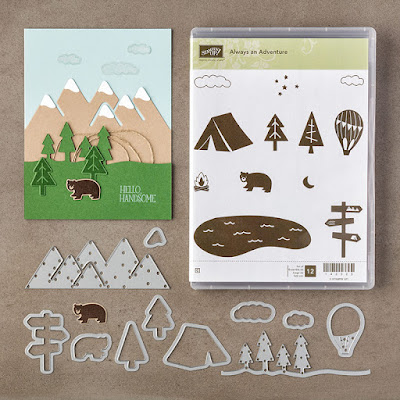 Always an Adventure Stamp Set and Outdoor Adventure Framelits Dies Bundle, Stampin' Up!
