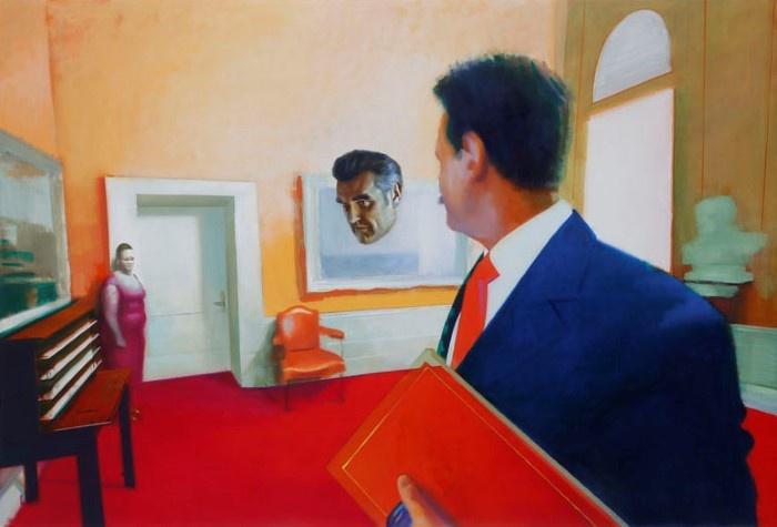 Венгерский художник. Akos Birkas
